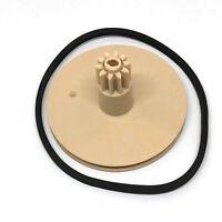 CDM-9 Zahnrad Gear Wheel mit Riemen Belt Für Philips CD-930 CD931 CD950 CDPlayer