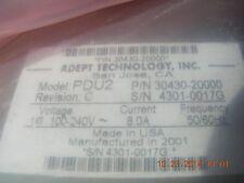Adept Power Distribution Unit  Model PDU2   P/N   30430-20000