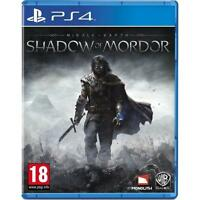 PS4 Middle-Earth: Shadow of Mordor (Sony PlayStation 4, European Version VGC