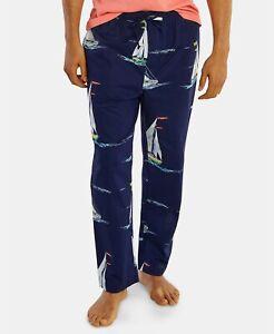 Nautica Mens Slim Fit Pajama Pant In Checker Print