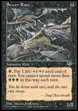 ▼▲▼ Sewer Rats (Rats d'égout) MIRAGE #139 ENGLISH MTG