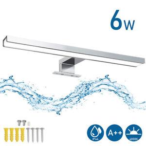 LED Spiegelleuchte Beleuchtung Bad Aufbau-Lampe Spiegelschrank Leuchte IP44 6W