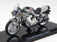 Suzuki Katana 1982 ClassicSuperbike Motorrad Modell 4658122 Atlas 1:24