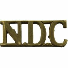 WW2 National Defence Company NDC Companies Territorial Army Shoulder Title SY46