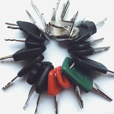 20pc Heavy Equipment Key Set Construction Ignition Keys CAT volvo Deere JCB case
