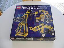 LEGO TECHNICS 8074, UNIVERSAL SET FLEX SYSTEM, 1991, COMPLETE BOXED ETC