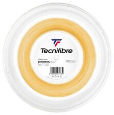 Tecnifibre Synthetic Gut Tennis String - 1.30mm/16G - 200m Reel - Gold