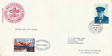 30 OCTOBER 1974 FESTINIOG RAILWAY CARRIED COVER WITH A RAILWAY LETTER STAMP