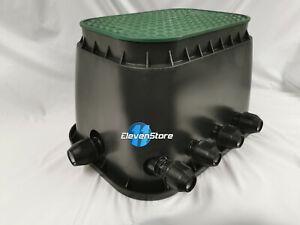 Hunter PGV 101 Magnetventile Bewässerung Ventilbox Verteiler 4 Stationen Rain E
