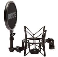 Rode SM6 SM-6 Spinne elastische Mikrofonhalterung mit Popschutz