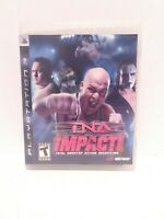 TNA Impact (Sony PlayStation 3, 2008)  CIB Tested Fast Shipping