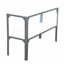 SVITA Pflanztisch Metall-Tisch Gartentisch Outdoor Werkbank Metall Arbeitstisch
