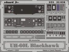 Eduard 1/35 SIKORSKY uh-60l Negro Hawk Instrumento Panel para ACADEMY #33010
