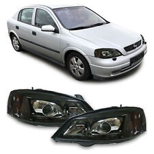 OPEL ASTRA G XENON D2S BLACK HEADLIGHTS HEADLAMPS 9/1997 - 2/2004 MODEL