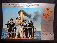 FOTOBUSTA CINEMA - CITTY CITTY BANG BANG - DICK VAN DYKE - 1968 - FANTASTICO -04