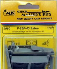 CMK 1/32 F-86F-40 Sabre Undercarriage set for Hasegawa # 5060