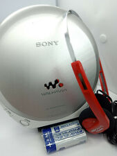 Walkman Sony D-EJ360 Cd Discman Reproductor De Disco compacto de música estéreo Personal De Plata