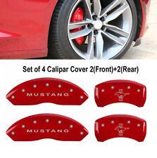 MGP 10197SMB1RD | Brake Caliper Cover Red | Ford Mustang/Bar&Pony S197