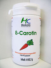Beta Carotene Capsules 3 Saving Set 360 Pcs 180,9g