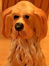 New Top Dogs Bentley The Golden Retriever Figurine By Lynda Corneille