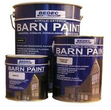 Bedec Barn vernice acrilica a base d'acqua per legno esterno semi-lucida nera