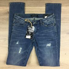 Stitch's Black Label Fox Distressed Womens Jeans Size 25  NWT RRP$330 (FF13)