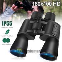 Night Version 180x100 Military Zoom Binoculars Telescopes Optics Hunting Camping