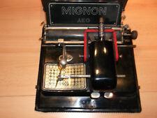 Sammlerstück Mignon AEG, Modell 3, antike Zeigerschreibmaschine vor 1923! Metall