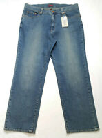Jag Jeans Women Plus Size 20W Straight Leg High Rise Blue Medium Wash Stretch