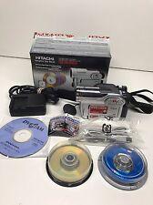 Hitachi DZ-HS300A DVD & Hard Disk Drive Built In Video Camera