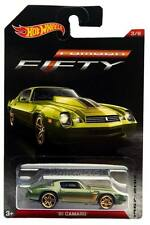 2017 Hot Wheels Camaro Fifty Series #3 '81 Chevy Camaro