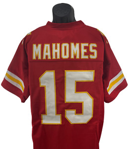 Patrick Mahomes Red KC Kansas City Custom Unsigned Stitched Jersey Adult XL
