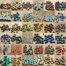 Natural Gemstone Round Spacer Beads Making 4mm 6mm 8mm10mm Wholesale DIY Jewelry