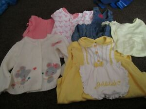 (LOT 25) BABY GIRLS CLOTHES BUNDLE SIZE 12-18 MONTHS