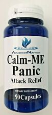 Calm-Me Panic Attack Relief 90 Capsules Natural Anxiety Relief 5-HTP Valerian