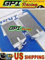 GPI R&L aluminum radiator Honda CRF450R CRF 450R CRF450 02 03 04 2002 2003 2004