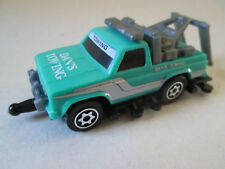 1987 Hasbro Tomy Takara Road Hogs Dan's Towing Tow Pull & Go Friction Truck Mint