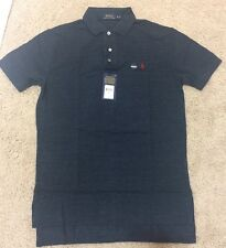 NWT Ralph Lauren Men's Classic Fit Mesh T Shirt Small Pony Polo Blue Eclipse S-L