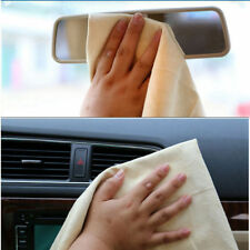 1Pc Natural Chamois Leather Car Cleaning Cloth Washing Suede Absorbent Towel sm