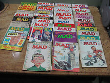 Vintage 37  Mad Magazines from 1965-1983 Comics Mad Magazine, USC#153