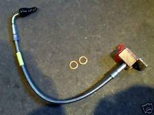 Brake hose rear r/h s/s braided, Mazda MX-5 MX5 Eunos mk1 mk2 right hand & block
