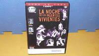 LA NOCHE DE LOS MUERTOS VIVIENTES - GEORGE ROMERO - dvd