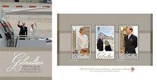 Gibraltar 2012 ROYAL VISIT  BLOK-MS PRESENTATION PACK postfris/MNH