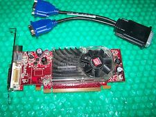 ATi Radeon HD2400XT 256MB Dual Monitor PCI-E Card and splitter cable