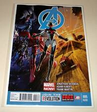 AVENGERS # 5  2nd PRINTING VARIANT EDITION  Marvel Comic  May 2013  VFN/NM