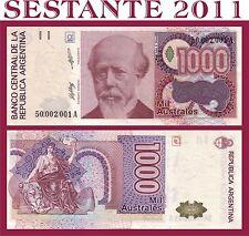 ARGENTINA - 1000 1.000   AUSTRALES SERIE A,  ND 1988-90  - P 329a  FDS / UNC