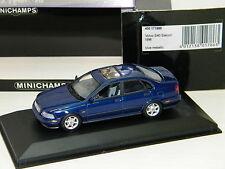 MINICHAMPS - VOLVO S40 BERLINE 1996 BLEU METAL