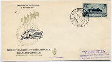 Repubblica Italiana : FDC Venetia Club : n° 85 : Salone automobile 1951 NV