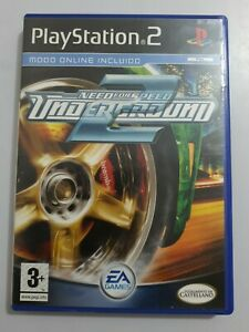 NEED FOR SPEED UNDERGROUND 2 PlayStation 2 PS2 PAL España COMPLETO