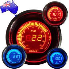 "2"" 52mm Vehicle Red&Blue Light Boost Meter / Water Tempture / Oil Pressure Gauge"